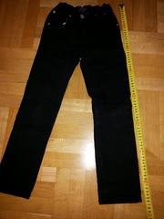 джинсы на худенькую девочку р.134