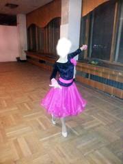 платье для бальных танцев новое