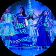 Флуоресцентная краска для текстиля
