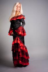 юбки канкан, цыганка, мексиканец-сценические костюмы