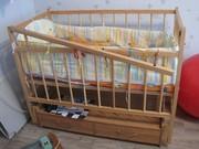Модернизация детской кроватки своими руками 88